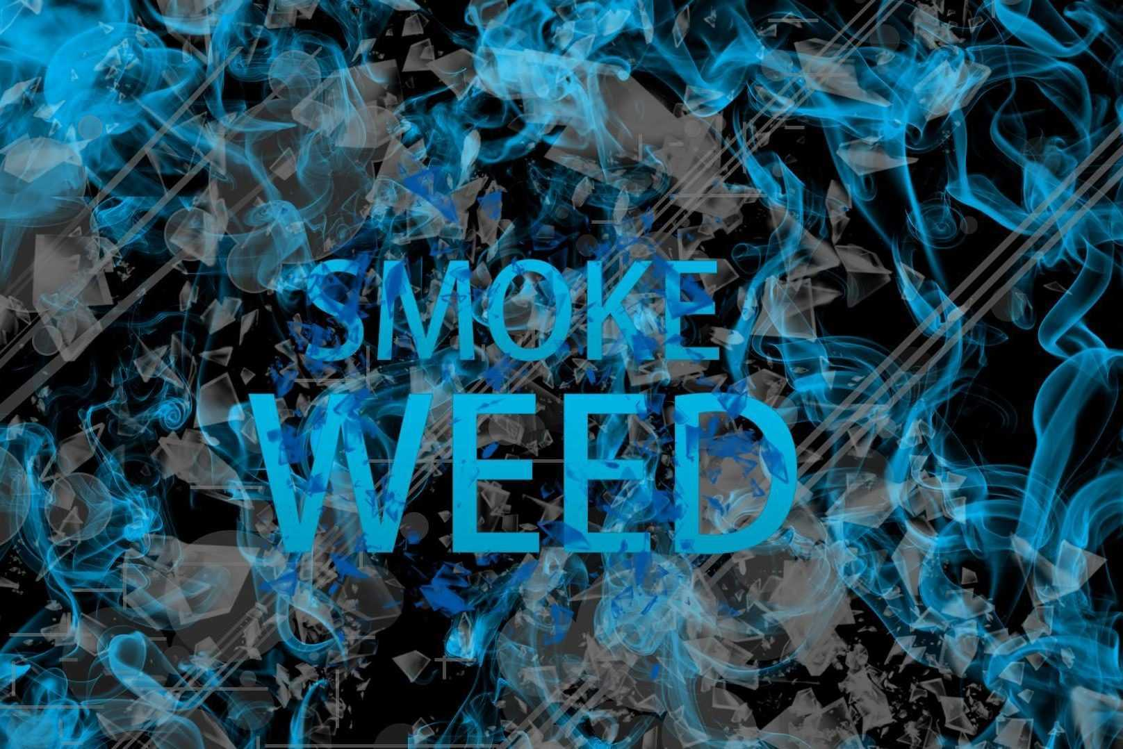 Smoke Weed Wallpaper H...
